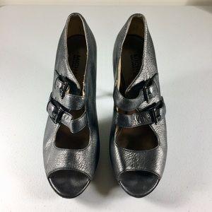 Michael Michael Kors Gray Stilettos Size 8M